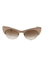 Tom Ford FT0387 74G Lola - Pink Gold/Brown Gradient by Tom Ford for Women - 54-17-140 mm Sunglasses