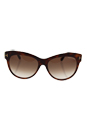 Tom Ford FT430 56F Lily - Havana/Gradient Brown by Tom Ford for Women - 56-16-140 mm Sunglasses