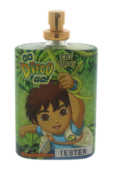 Go Diego Go by Nickelodeon for Kids - 3.4 oz EDT Spray (Tester)