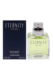 Calvin Klein Eternity  men 3.4oz EDT Spray (Tester)
