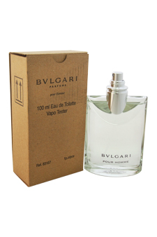 Bvlgari  men 3.4oz EDT Spray (Tester)
