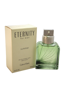 Calvin Klein Eternity Summer  men 3.4oz EDT Spray (Tester)