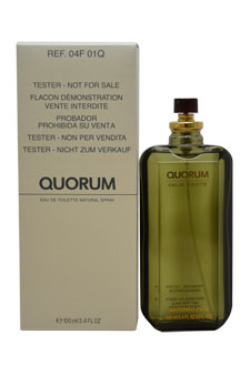 Quorum by Antonio Puig for Men - 3.4 oz EDT Spray (Tester)