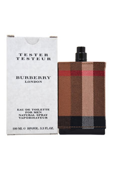 Burberry London  men 3.3oz EDT Spray (Tester)