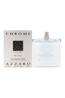 Loris Azzaro Chrome  men 3.4oz EDT Spray (Tester)