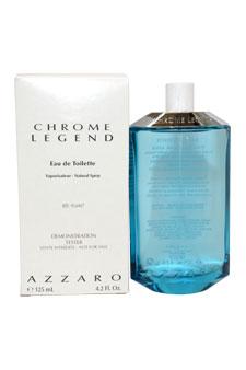 Loris Azzaro Chrome Legend  men 4.2oz EDT Spray (Tester)