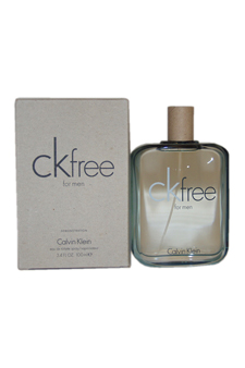 Calvin Klein CK Free  men 3.4oz EDT Spray (Tester)