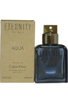 Calvin Klein Eternity Aqua  men 3.4oz EDT Spray (Tester)