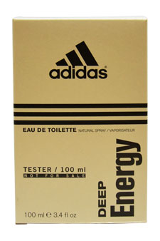 Adidas Deep Energy by Adidas for Men - 3.4 oz EDT Spray (Tester)