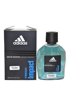 Adidas Fresh Impact  men 3.4oz EDT Spray (Tester)