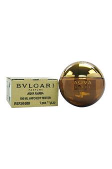 Bvlgari Aqva Amara  men 3.4oz EDT Spray (Tester)