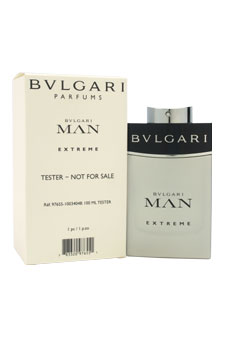 Bvlgari Man Extreme  men 3.4oz EDT Spray (Tester)