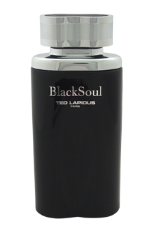 Black Soul by Ted Lapidus for Men - 3.33 oz EDT Spray (Tester)