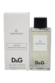 D&G L'Amoureux 6 by Dolce & Gabbana for Unisex - 3.3 oz EDT Spray (Tester)