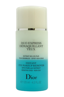 Instant Eye Makeup Remover by Christian Dior for Unisex - 4.2 oz Make Up Remover (Tester)