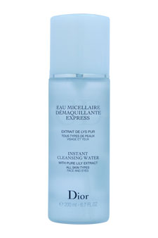 Christian Dior Instant Cleansing Water 6.7oz (Tester)