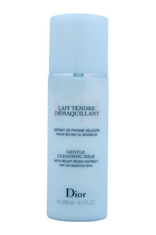 Christian Dior Gentle Cleansing Milk (For Dry/ Sensitive Skin) 6.7oz (Tester)