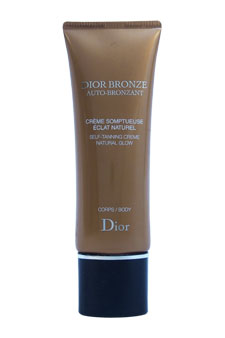Dior Bronze Self Tanning Natural Glow For Body by Christian Dior for Unisex - 4.3 oz Cream (Tester)