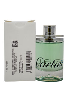 Eau de Cartier Concentree 3.3oz EDT Spray (Tester)
