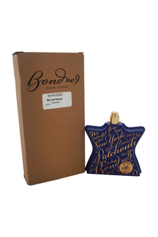 New York Patchouli by Bond No. 9 for Unisex - 3.3 oz EDP Spray (Tester)