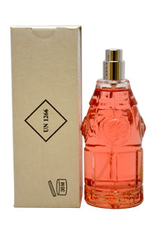 Red Jeans by Versace for Women - 2.5 oz EDT Spray (Tester)