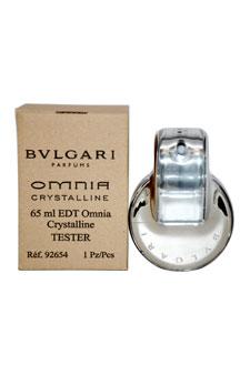 Bvlgari Omnia Crystalline by Bvlgari for Women - 2.2 oz EDT Spray (Tester)