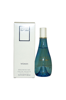 Cool Water by Zino Davidoff for Women - 3.4 oz EDT Spray (Tester)