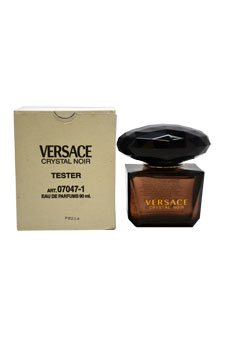 Versace Crystal Noir by Versace for Women - 3 oz EDP Spray (Tester)
