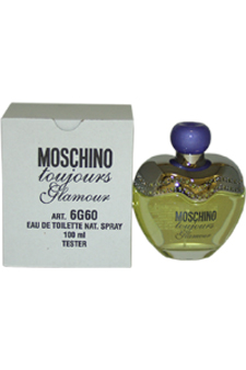 Moschino Toujours Glamour by Moschino for Women - 3.4 oz EDT Spray (Tester)