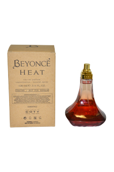 Beyonce Heat by Beyonce for Women - 3.4 oz EDP Spray (Tester)