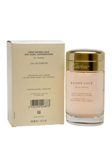 Cartier Baiser Vole women 3.3oz EDP Spray (Tester)