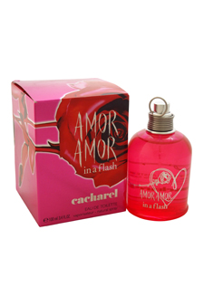 Cacharel Amor Amor In A Flash women 3.4oz EDT Spray (Tester)