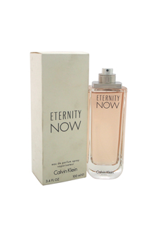Calvin Klein Eternity Now women 3.4oz EDP Spray (Tester)