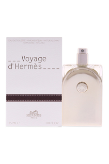 Voyage D'Hermes by Hermes for Unisex - 1.18 oz EDT Spray (Refillable)