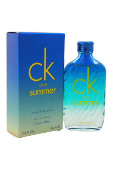 CK One Summer by Calvin Klein for Unisex - 3.4 oz EDT Spray (2015 Limited Edtion)