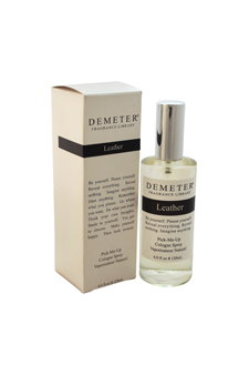 Leather by Demeter for Unisex - 4 oz Cologne Spray