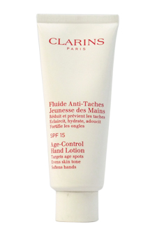 Age-Control Hand Lotion SPF 15 by Clarins for Unisex - 3.4 o
