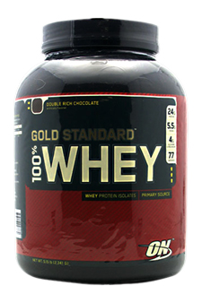 Optimum Nutrition 100% Whey Gold Chocolate by Optimum Nutrition for Men - 2273 g Protein