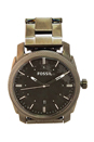 FS4774P Machine Smoke Stainless Steel Watch by Fossil for Men - 1 Pc Watch