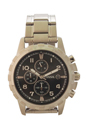 FS4542P Dean Chronograph Stainless Steel Watch by Fossil for Men - 1 Pc Watch