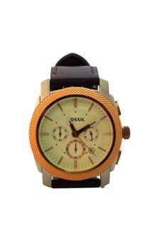 FS5040P Machine Chronograph Brown Leather Watch