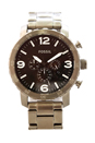 JR1353P Nate Chronograph Stainless Steel Watch by Fossil for Men - 1 Pc Watch
