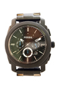 FS4552P Machine Chronograph Black Stainless Steel Watch by Fossil for Men - 1 Pc Watch