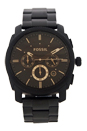 FS4682 Stainless Steel Analog Black Dial Watch by Fossil for Men - 1 Pc Watch