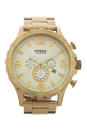 JR1479 Nate Chronograph Gold-Tone Stainless Steel Watch by Fossil for Men - 1 Pc Watch
