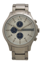AX2136 Chronograph Stainless Steel Bracelet Watch by Armani Exchange for Men - 1 Pc Watch