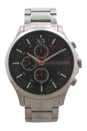 AX2163 Chronograph Stainless Steel Bracelet Watch by Armani Exchange for Men - 1 Pc Watch