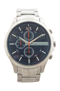 AX2155 Chronograph Stainless Steel Bracelet Watch by Armani Exchange for Men - 1 Pc Watch