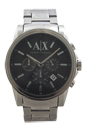 AX2084 Chronograph Stainless Steel Bracelet Watch by Armani Exchange for Men - 1 Pc Watch