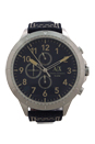 AX1756 Chronograph Blue Denim Strap Watch by Armani Exchange for Men - 1 Pc Watch